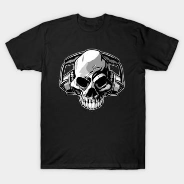 https://www.teepublic.com/t-shirt/645193-skull-music