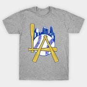 https://www.teepublic.com/show/723479-la-baseball